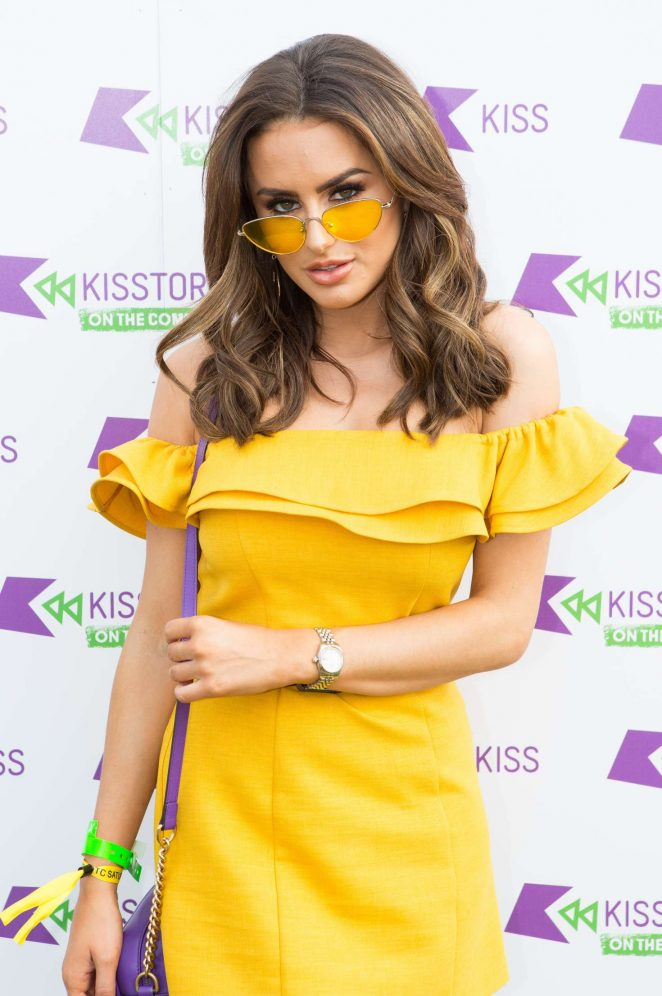 Amber Davies - Kisstory on the Common in London