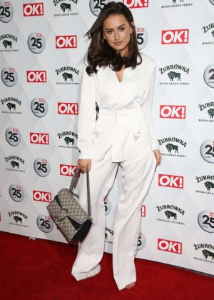 Amber Davies -  OK! Magazine's 25th Anniversary Party in London