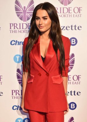 Amber Davies - Pride Of The North East Awards 2018 in Newcastle