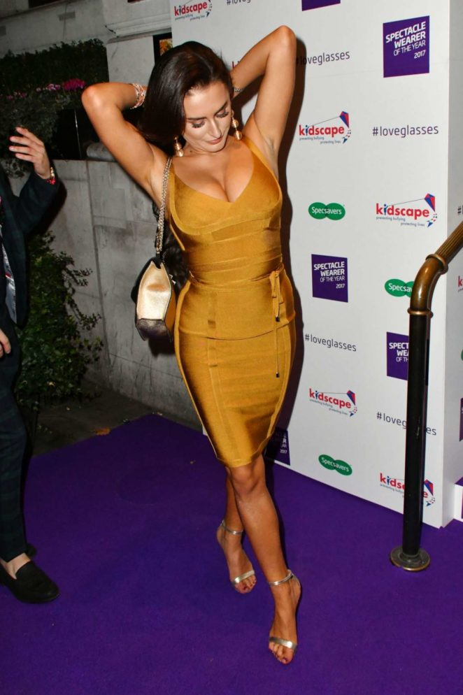 Amber Davies - Spectacle Wearer Of The Year in London