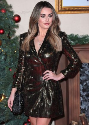 Amber Davies - 'Surviving Christmas with the Relatives' Premiere in London