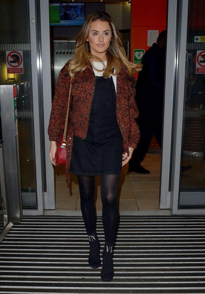 Amber Davis - BBC Radio Two Studios in London