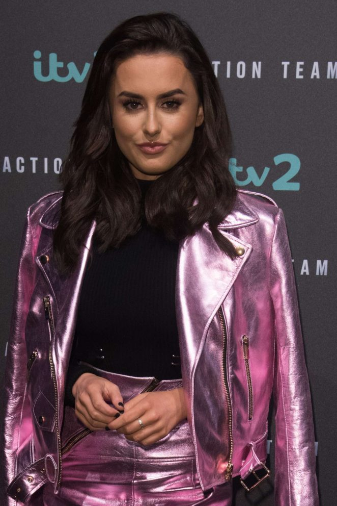 Amber Davis - ITV2 'Action Team' Press Launch in London