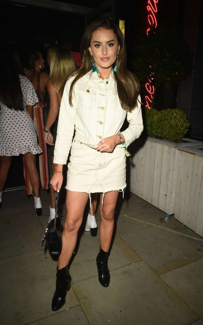 Amber Davis - Night out at Menagerie in Manchester