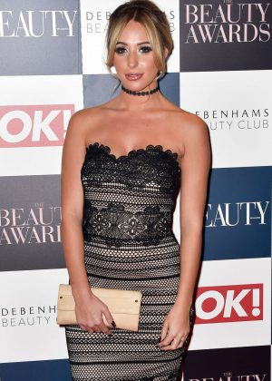 Amber Dowding - Beauty Awards 2016 in London