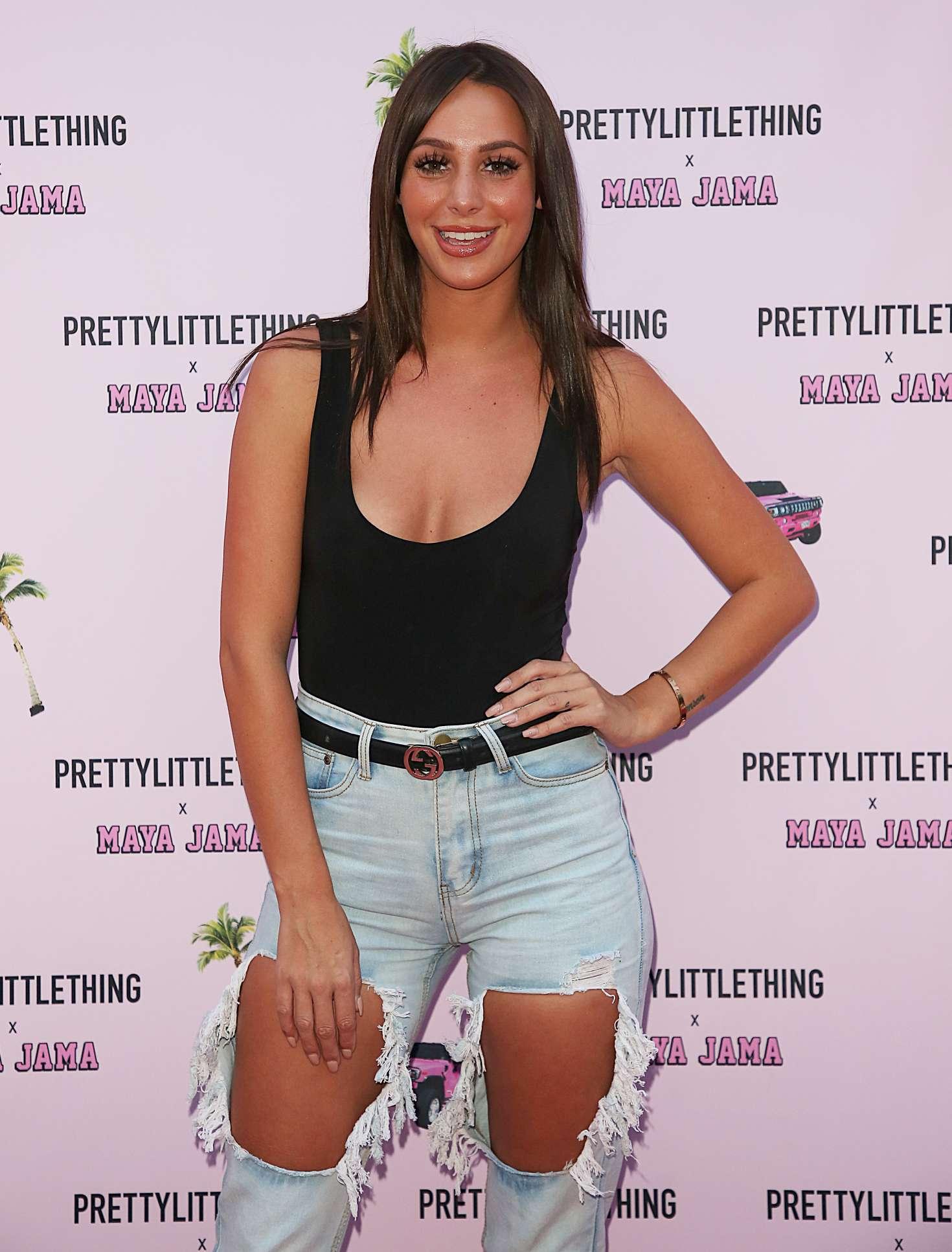 Amber Dowding 2018 : Amber Dowding: PrettyLittleThing x Maya Jama Launch party -01