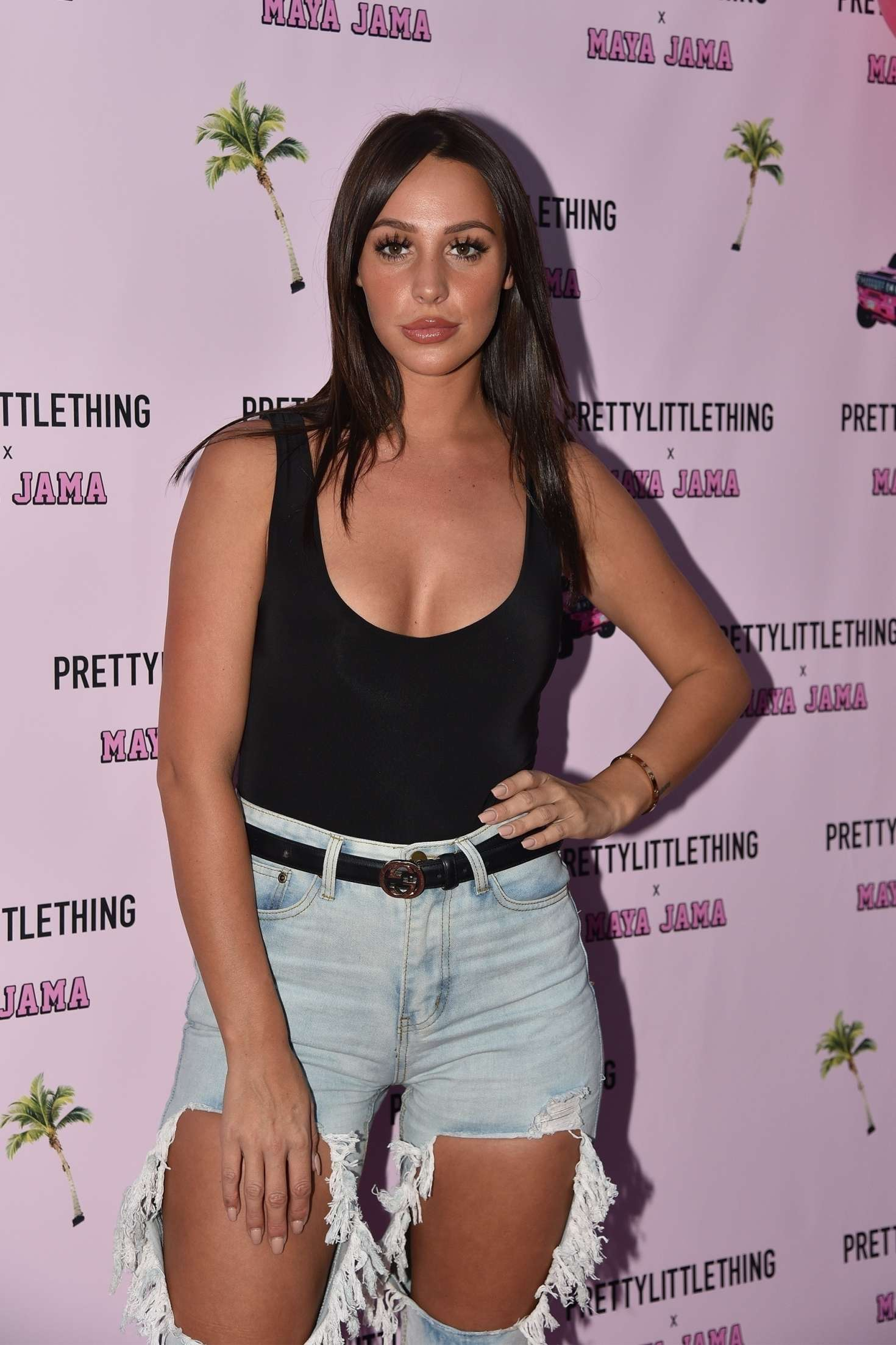 Amber Dowding - PrettyLittleThing x Maya Jama Launch party in London