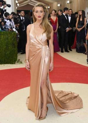 Amber Heard - 2016 Met Gala in NYC