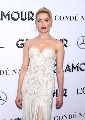 Amber Heard - 2018 Glamour Women of the Year Awards in NYC