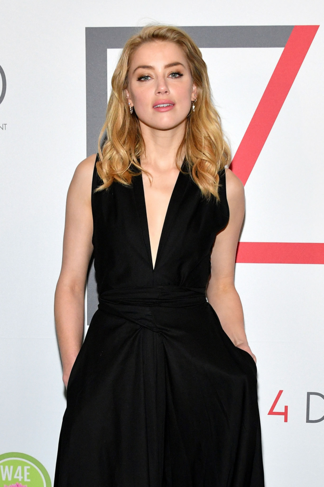 Amber Heard - 2018 Official First Ladies Luncheon in New York City