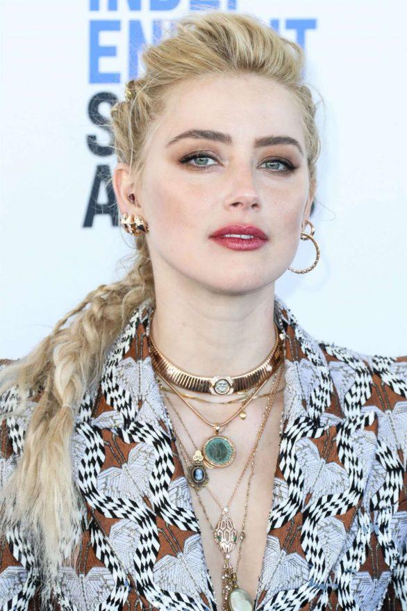 Amber Heard - 2020 Film Independent Spirit Awards in Santa Monica