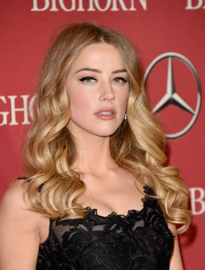 Amber Heard - 2015 Palm Springs International Film Festival