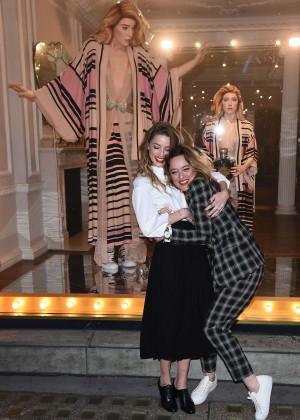 Amber Heard: Alice In Wonderland Themed Window Unveiling -24