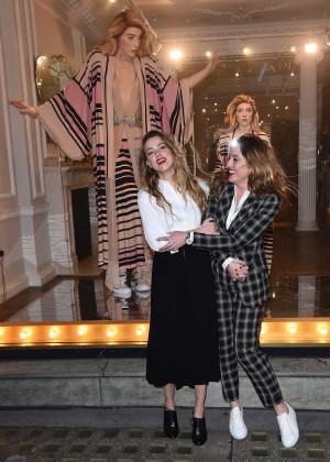 Amber Heard: Alice In Wonderland Themed Window Unveiling -28
