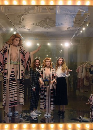 Amber Heard: Alice In Wonderland Themed Window Unveiling -34