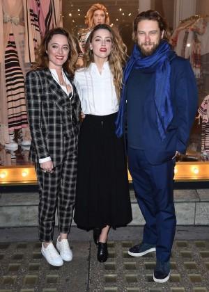 Amber Heard: Alice In Wonderland Themed Window Unveiling -36