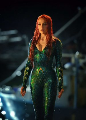 Amber Heard - Aquaman 2018 Promotional Photo