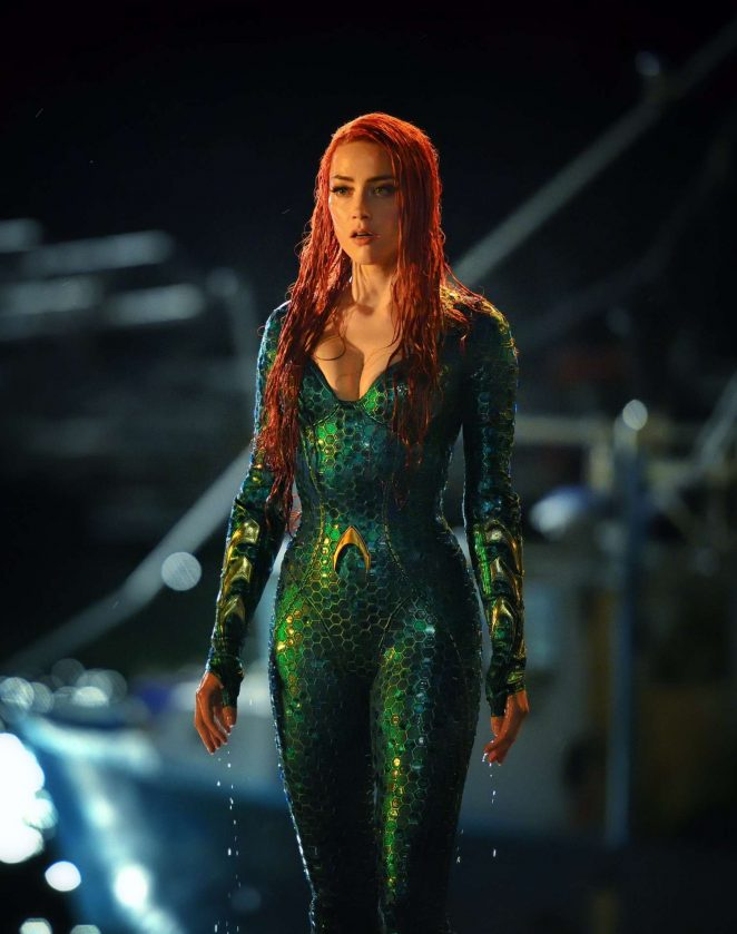Amber Heard – Aquaman 2018 Promotional Photo