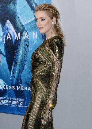 Amber Heard - 'Aquaman' Premiere in Hollywood