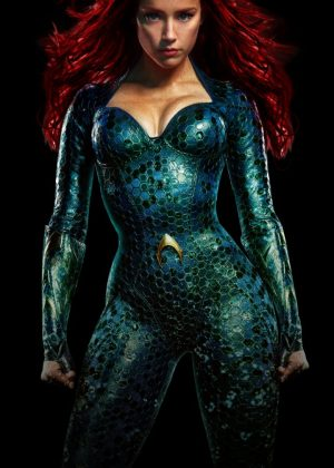 Amber Heard - 'Aquaman' Stills, Promotional Pics and Posters 2018