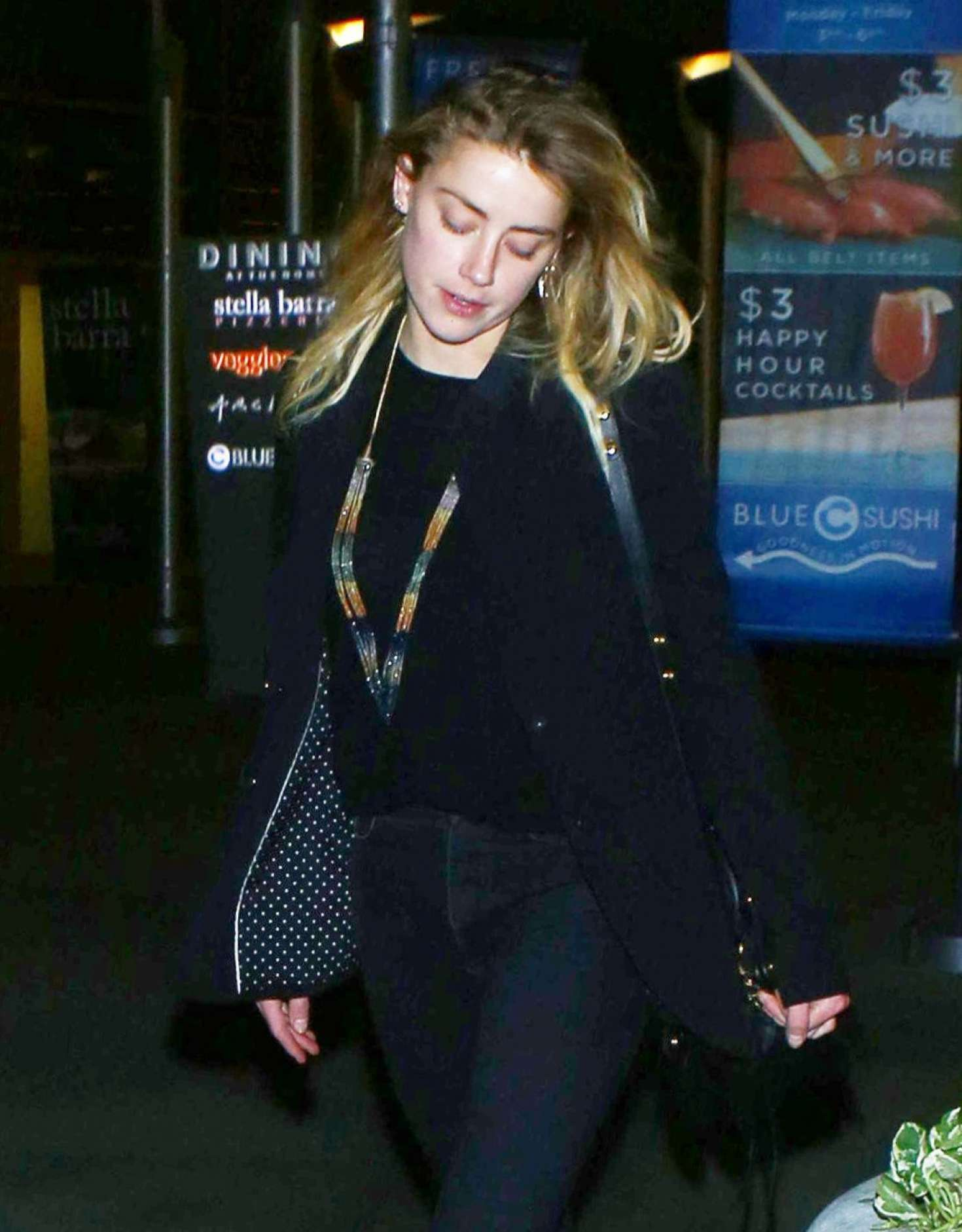 Amber Heard - Arrive at the ArcLight in LA