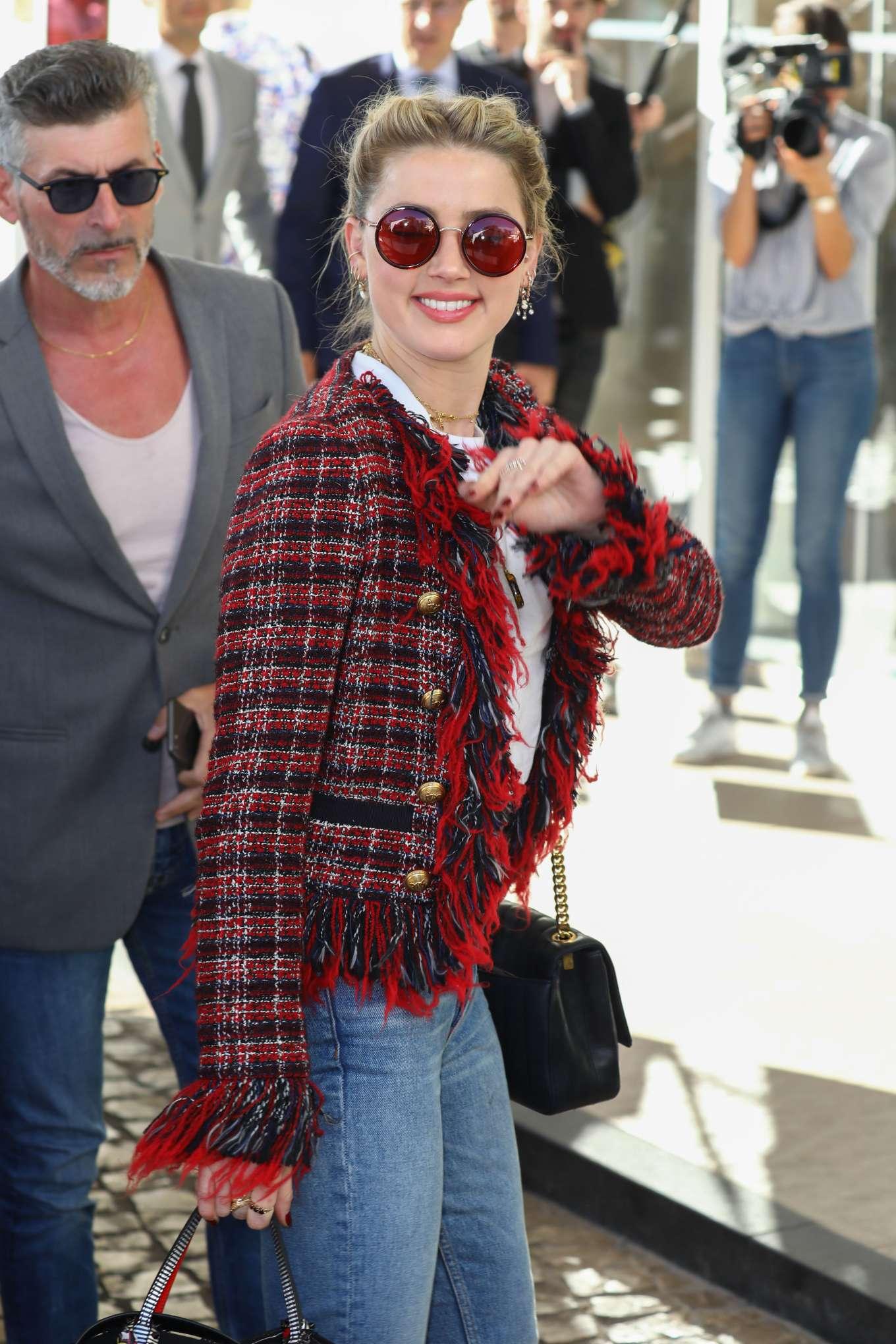 Amber Heard 2019 : Amber Heard: Arrives at the Martinez Hotel -02