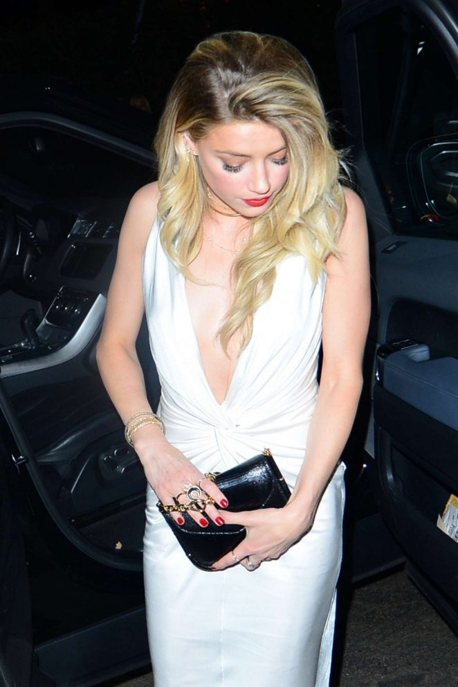 Amber Heard - Arrives to The Chateau Marmont in LA