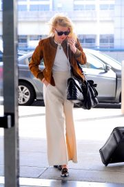Amber Heard - Arriving at JFK Airport in New York