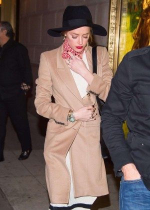 Amber Heard Arriving at the Polo Bar in New York City