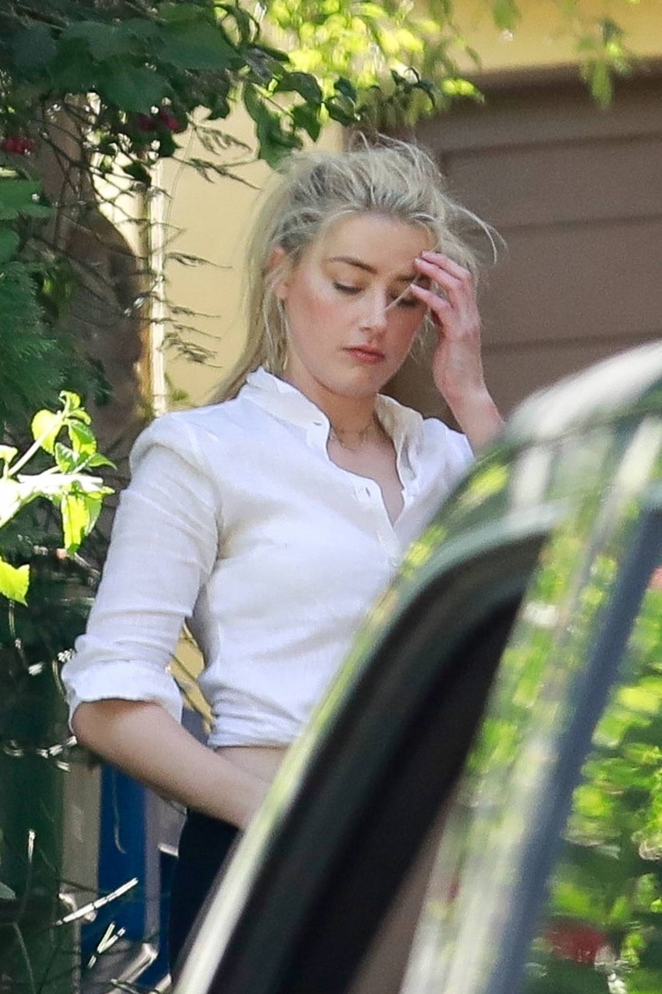 Amber Heard 2020 : Amber Heard – Arriving home in Los Angeles-07