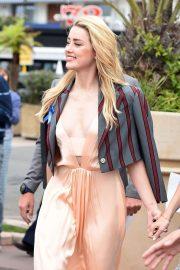 Amber Heard at 72nd Cannes International Film Festival