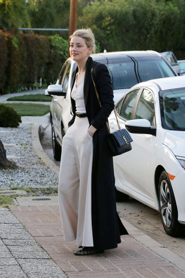 Amber Heard: Attending a private event -06