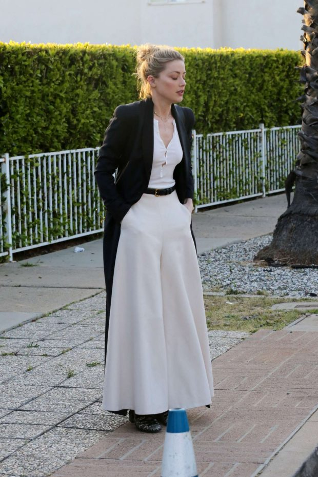 Amber Heard: Attending a private event -07
