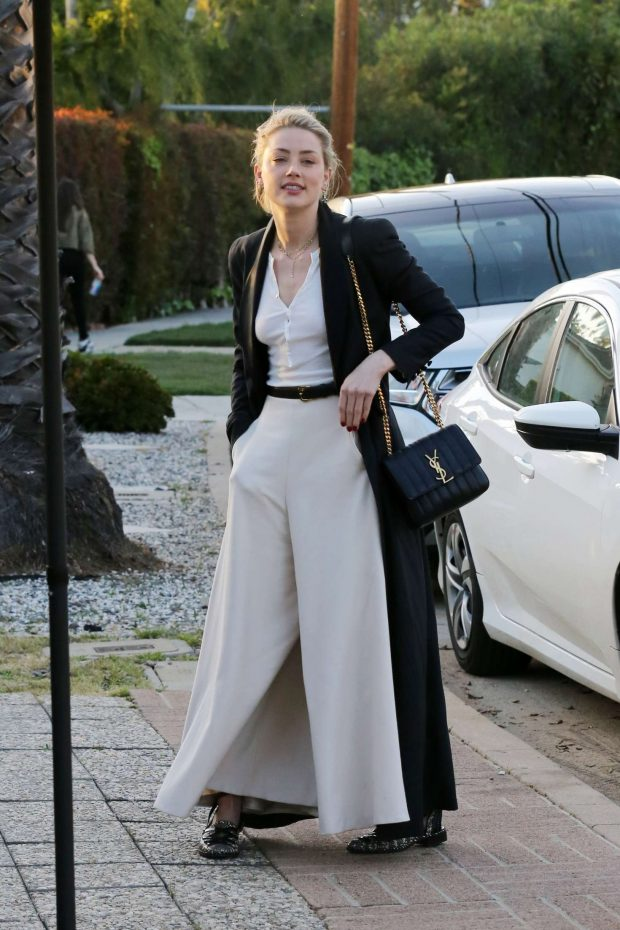 Amber Heard - Attending a private event in Los Angeles