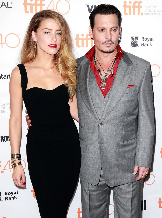 Amber Heard – 'Black Mass' Premiere at 2015 TIFF in Toronto