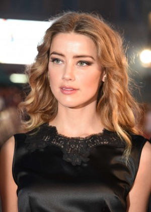 Amber Heard - 'Black Mass' Virgin Atlantic Gala at BFI London Film Festival