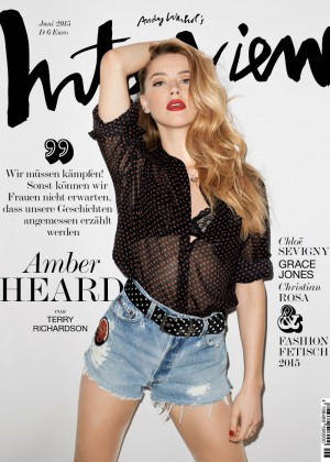 Amber Heard - Interview Magazine (Jun 2015)