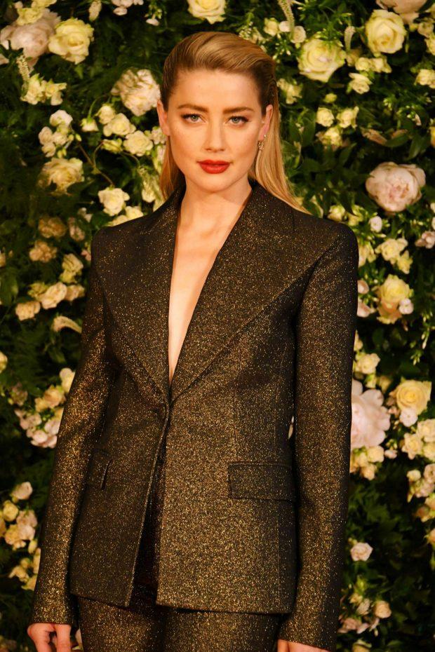 Amber Heard - Charles Finch Filmmakers Dinner at 2019 Cannes Film Festival
