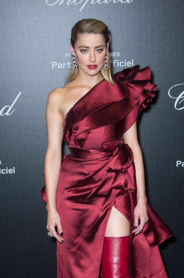 Amber Heard - Chopard Party at 2019 Cannes Film Festival