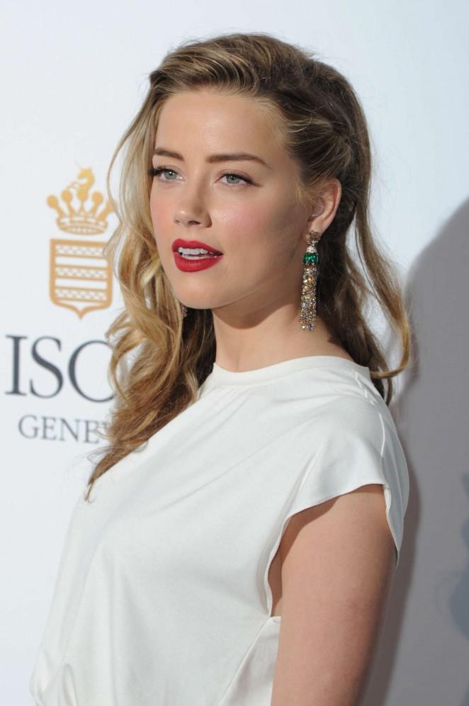 Amber Heard - De Grisogono Party 2015 in Cannes