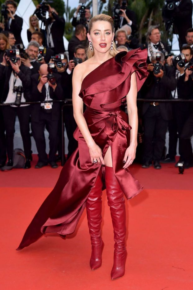 Amber Heard - 'Dolor y Gloria' Screening at 2019 Cannes Film Festival
