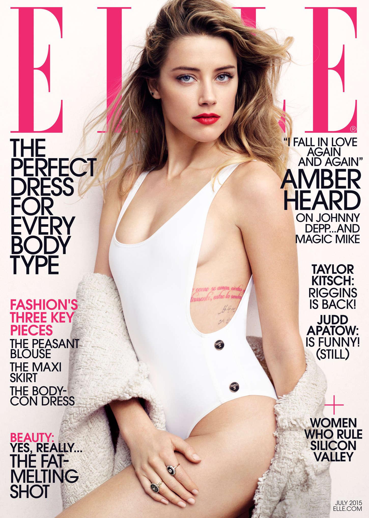 Amber Heard - Elle Magazine (July 2015) Amber Heard