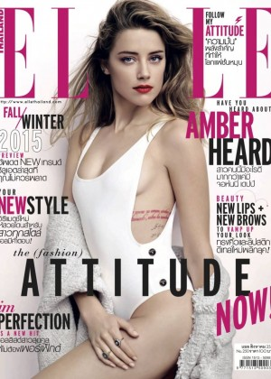 Amber Heard - Elle Thailand (August 2015)