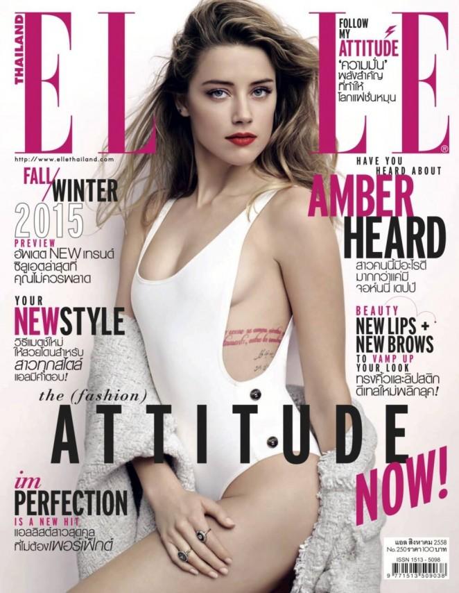Amber Heard - Elle Thailand (August 2015)
