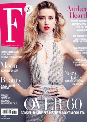 Amber Heard - F Magazine Cover (November 2017)