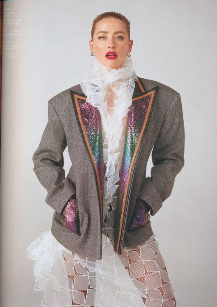 Amber Heard for Wonderland Magazine (Spring/Summer 2019)