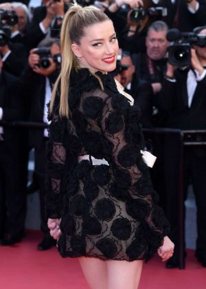 Amber Heard - 'Girls Of The Sun' Premiere at 2018 Cannes Film Festival
