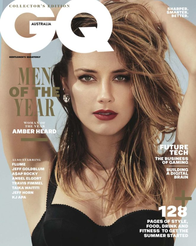 Amber Heard - GQ Australia Magazine (December 2017)