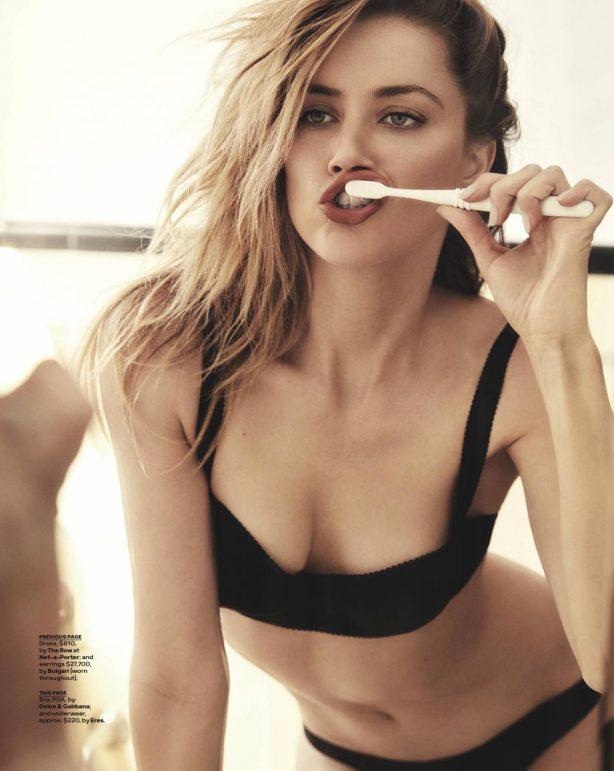 Amber Heard - GQ Magazine (Australia - December 2017)