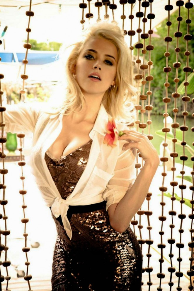 Amber Heard – Guess Girl Campaign